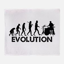 Evolution Throw Blanket