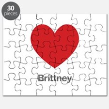 Brittney Big Heart Puzzle