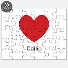 Callie Big Heart Puzzle