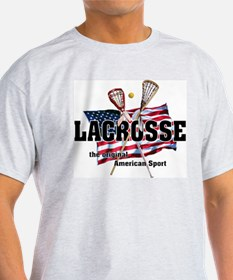 Lacrosse Ash Grey T-Shirt