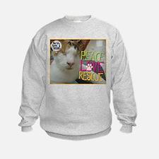 Peace Love Rescue Sweatshirt