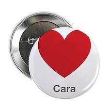 """Cara Big Heart 2.25"""" Button"""
