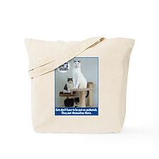 Cats on Pedestals Tote Bag