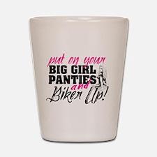 Biker Up Shot Glass