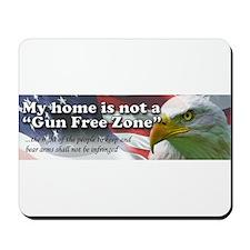 Gun Free Zone Mousepad