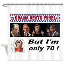 OBAMA DEATH PANEL Shower Curtain