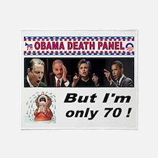 OBAMA DEATH PANEL Throw Blanket