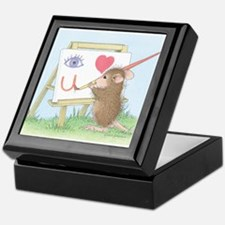 I love you with all my Art Keepsake Box