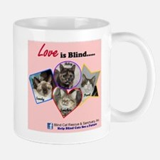 Love is Blind in Pink Mug