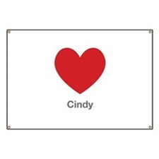 Cindy Big Heart Banner