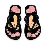 Pigs Flip Flops