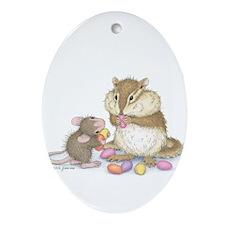 Sweet Friends Ornament (Oval)