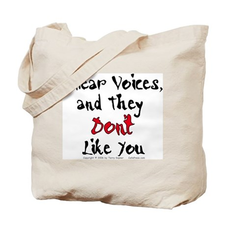 Hear Voices... Tote Bag