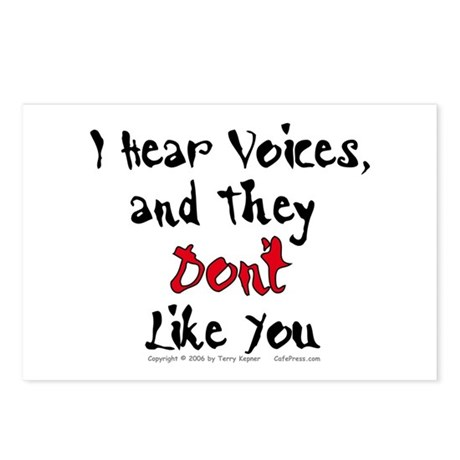 Hear Voices... Postcards (Package of 8)