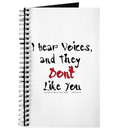 Hear Voices... Journal