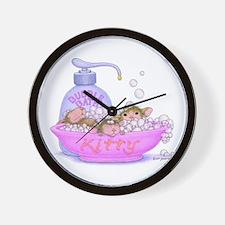 Spa-Tastic Friendship Wall Clock