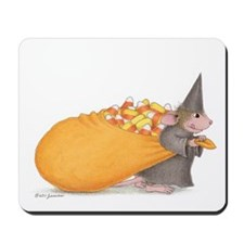 Candy Corn Comes to Town Mousepad