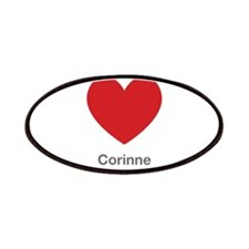 Corinne Big Heart Patches