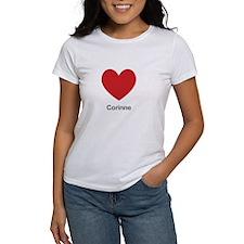 Corinne Big Heart T-Shirt