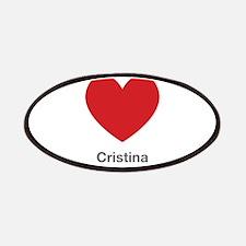 Cristina Big Heart Patches