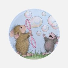 """Bubble Blowing Buddies 3.5"""" Button (100 pack)"""