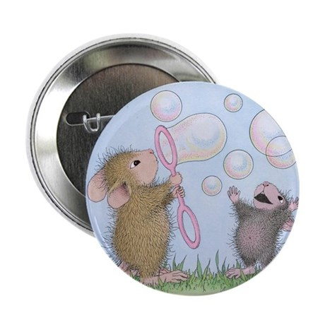 """Bubble Blowing Buddies 2.25"""" Button (100 pack)"""