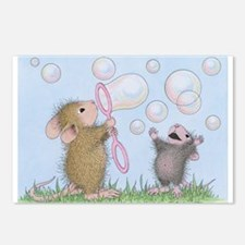 Bubble Blowing Buddies Postcards (Package of 8)