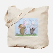 Bubble Blowing Buddies Tote Bag