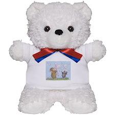 Bubble Blowing Buddies Teddy Bear