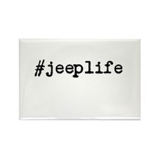 #jeeplife Rectangle Magnet