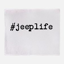 #jeeplife Throw Blanket