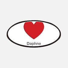 Daphne Big Heart Patches