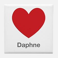 Daphne Big Heart Tile Coaster