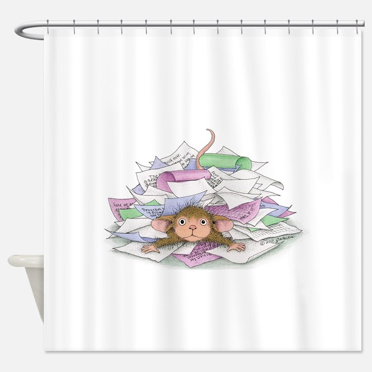 Work, work, work Shower Curtain