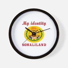My Identity Somaliland Wall Clock