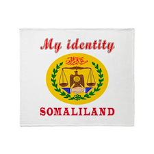 My Identity Somaliland Throw Blanket