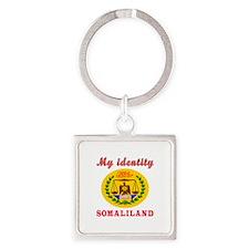 My Identity Somaliland Square Keychain