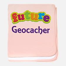 Future Geocacher baby blanket