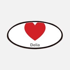 Delia Big Heart Patches