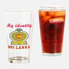 My Identity Sri Lanka Drinking Glass