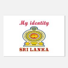 My Identity Sri Lanka Postcards (Package of 8)