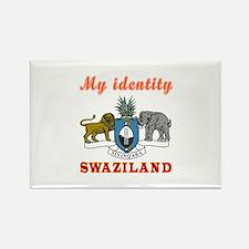 My Identity Swaziland Rectangle Magnet