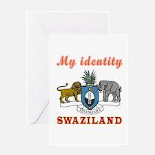 My Identity Swaziland Greeting Card