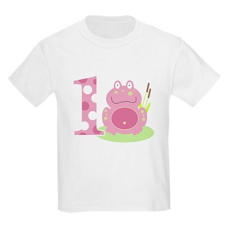 Pink Frog Im ONE Girl Birthday T-Shirt