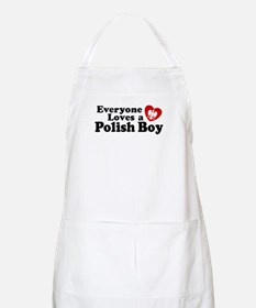 Everyone Loves a Polish Boy BBQ Apron