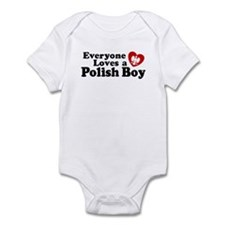 Everyone Loves a Polish Boy Infant Bodysuit
