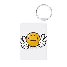 ambition smiley Keychains