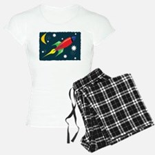 Rocket Ship Pajamas