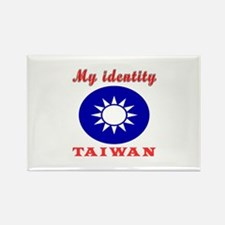 My Identity Taiwan Rectangle Magnet