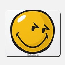 sneakiness smiley Mousepad